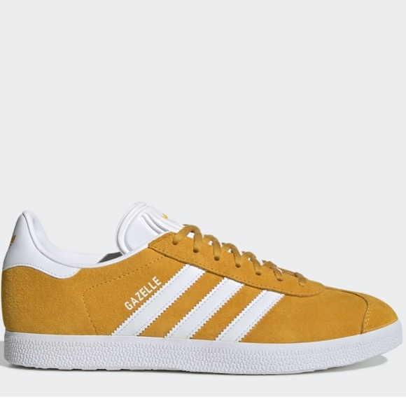 adidas Shoes | Gazelles In Mustard